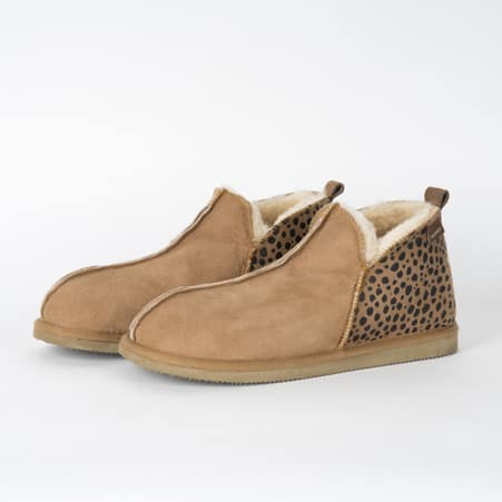 Shepherd Pantoffels Annie Leopard
