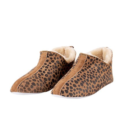Shepherd Pantoffels Lina Leopard 01