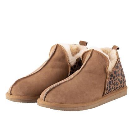 Shepherd Pantoffels Annie Leopard 01